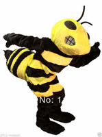 Fierce Hornet Bee Animal character mascot costume school mascot fancy dress costumes
