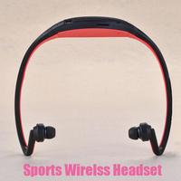 Sport Bluetooth Headset In-Ear loop Headphones Micro SD/TF Card FM Radio Music MP3 Player Portable