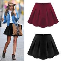 NEW 2014 Women Shorts Women Ruffles Shorts Women Summer Skirts Women Hot Pants Plus Size S-L 2 Color WHP009