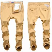 2014 New Men Fashion Casual Pants Brand Outdoors Pants Mens khaki Pants Plus Size Men's Clothing