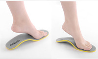Free Shipping 1 pair in the unisex fashion orthopedic shoes arch support insoles insole cushions pain relief