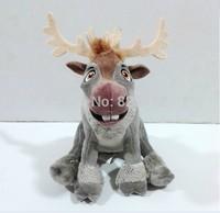 Free shipping New 2014 Original FROZEN Toys Sven Plush Reindeer 18cm Stuffed Animals Boneca Frozen Plush Toys for Girls