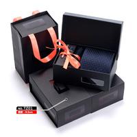Free Shipping Casual 100% Polyester Men's 8.5 CM Wedding Neck Ties Set 6 Pcs Business Man Formal Wear Ties NE011