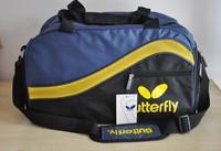 Table tennis bag backpack shoulder bag bag inclined rectangular shoe B830 built-pong bag satchel