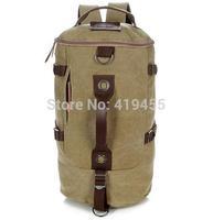 Retro canvas multiFunction Backpack excellent quality fashionable men vintage shoulder travel bags 2014 new arrival bp0166