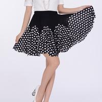 H3314 square dance clothes summer dress short skirt skirts half-length Latin dance skirt