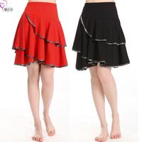 2014 square dance clothes skirt dance dress ballroom dancing skirt bust skirt dancing skirt