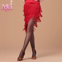 Adult Latin dance skirt skirts ballroom dancing bust skirt tassel dress layered skirts
