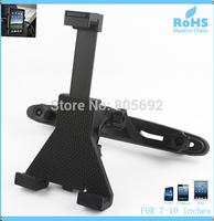"50pcs/lot New Design Adjustable Universal Car Seat Back Headrest Holder Mount Stand For Tablet PC/GPS  7""-10"""