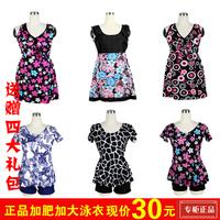 2014 women plus size 3XL-6XL swimwear female fashion one-piece dress beach summer spa