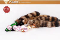 2014 Sex Products Crystal glans dog tail female masturbation   backyard stimulation women's