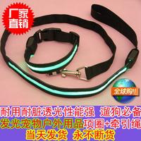 Zhuaizhu dog rope dog nylon leashes pet belt shine with saidsgroupsdirector daily necessities general set