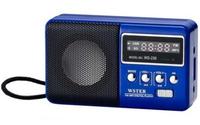 Ws-239 portable outdoor mini speaker tf card usb flash drive audio fm radio belt clip Portable mini FM radio for old man