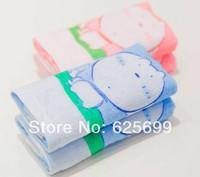 Free Shopping dog Children's soft skin-friendly fiber towel Beauty Pure 100% cotton towel boy 50*25CM 2pcs/lot