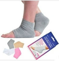 new soft gel spa socks for cute feet / moisturizing treatment gel socks