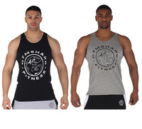 Summer 2014 hot sale gymshark men gym fitness mens tank top sleeveless shirts singlet sport comfortable classic Bodybuilding