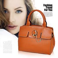 2014 women's handbag women's handbag nubuck cowhide genuine leather one shoulder bag oblique package