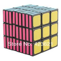 WitEden 3x3x9 I Brain Teaser IQ Puzzle Magic Cube (Black, Difficulty 10 of 10)
