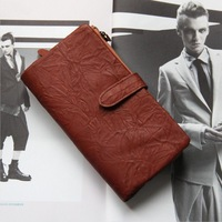 Detachable Change Purse Genuine Leather Wallet Men Wallets Famous Brand Male Clutch Purses Cowhide Carteira Masculina TBG0113