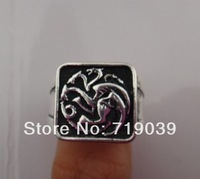 Hot Free shipping Wholesale 20pcs/lot THE GAME OF THRONES Tyrion Lannister ring GAME OF THRONES,original factory supply