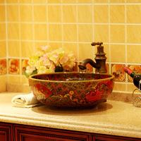 Bathroom supplies basin ceramic antique vintage wash basin wash basin 098