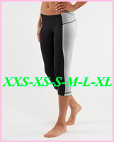 195 Styles Brand women Lulu NWT groove Crop Yoga Capris/Sport/Casual Pants sexy fitness gym sport trousers plus size:2-12 BB6