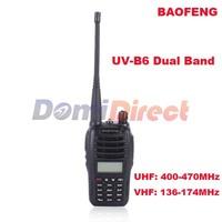 New Baofeng uv-b6 Walkie Talkie two way radio Dual Band VHF 136-174 & 400-470MHzand UHF 5W Walkie Talkie Baofeng UV B6