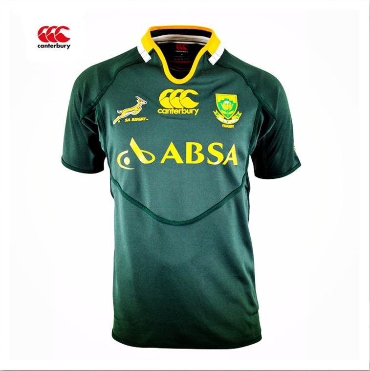 Canterbury Südafrika trikot rugby trikots Springböcke männer schärfen pro trikot s/3xl logo bedruckt