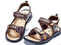 Children shoes child sandals 2014 boys sandals male child sandals size 30-36