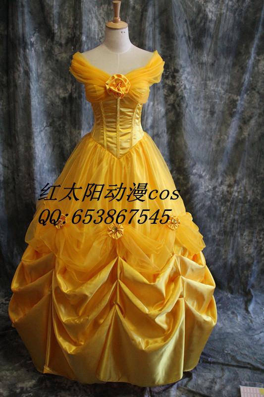 Imagen del vestido de la bella - Imagui
