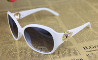 Free Shipping 2014 hot sell sunglasses women brand design swirl girl's fashion sunglasses Polarized Sunglasses