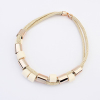 New 2014 Hot Selling European And American  4 Colours Fashion Necklaces & Pendants Jewelry For Women ~CN328