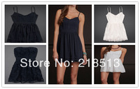 Free shipping Chiffon Dress Ladies briefs bamboo Women Dresses for evening Sexy afe  Party Dress