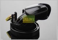 CB6000 Black Plastic Male Chastity Device Breathable Comfort Cock Cage