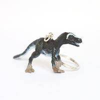 Safari artificial animal model toy dragon key chain