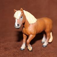 Safari artificial animal model toy plastic animal decoration brown horse
