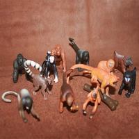 Safari wild animal model toy monkey oralogy 12