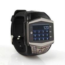 "Wholesale GD910 Watch Mobile Phone 1.5"" Touching Screen Quad Band GSM Watch phone FM Bluetooth MP3 MP4 Camera phone watch U8(China (Mainland))"