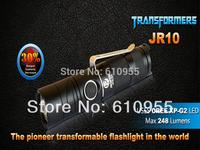 Rofis JR10 CREE XP-G2 248 Lumens LED Transformers Flashlight (1xCR123A)