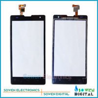 for Huawei Honor 3C H30 G740 touch screen digitizer touch panel touchscreen,black.Original ,free shipping