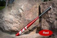 Free Shipping 28 Inch Red Lightweight Aluminum Youth Baseball Bat Softball Bat