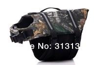 Wholesale Camo Dog Life Jacket Vest X-small Small Medium Large X-large 7 Colors 5 Sizes  one pack = 20pcs Camouflage