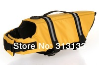 Wholesale Yellow Dog Life Jacket Vest X-small Small Medium Large X-large 6 Colors 5 Sizes  one pack = 20pcs Yellow