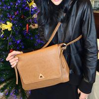 vintage brief messenger bag shoulder bag envelope bag female