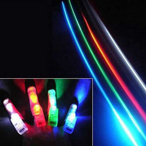Multicolour 2196 magic finger lights laser light ring light-up toy 4(China (Mainland))
