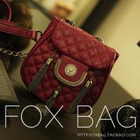 Vintage small 2014 women's plaid women's handbag chain bag fashion small