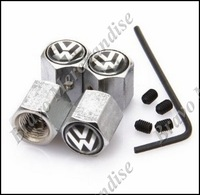 10sets/lot stainless steel BVolkswagen car automobile wheel tire tyre valve cap cover anti-theft airleak air dust covers caps