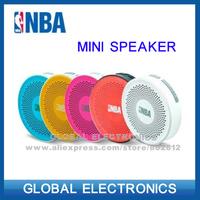N B A ifree mini bluetooth portable wireless car speaker answer calling speaker freeshipping