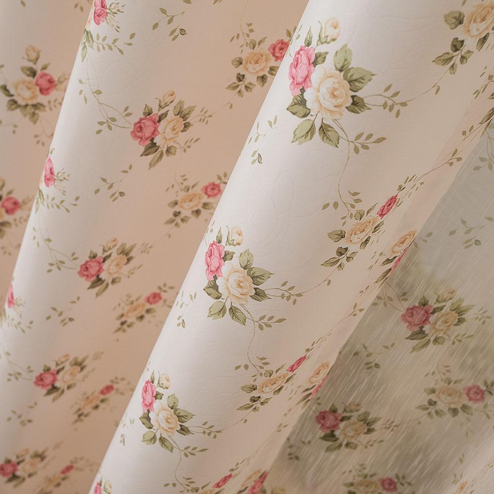 Cortina rústico produtos acabados qualidade seda branca cortina da janela(China (Mainland))