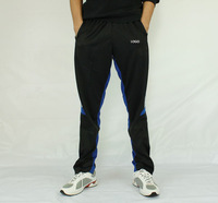 2014 Soccer training pants trousers with zippers Football pants
